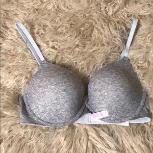 Pink Victoria's Secret Push-up Bra